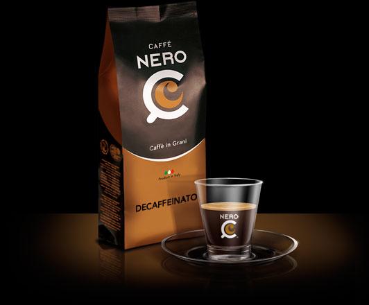Miscela Decaffeianto - Caffè Nero C